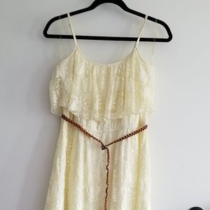 AUW High-low Lace Dress